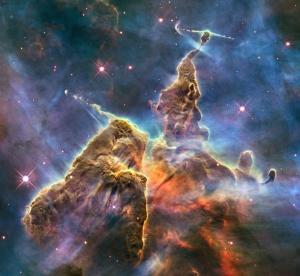 all'interno della Nebulosa Carina